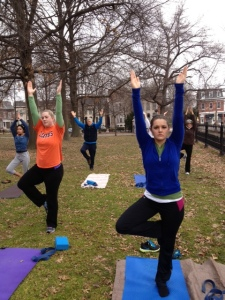First yoga class at lafayette 033013